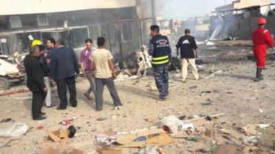 Iraq suicide bomb attack
