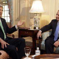 John Kerry and Nawaz Sharif