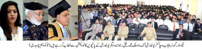 Malik Muhammad Rafiq Speech