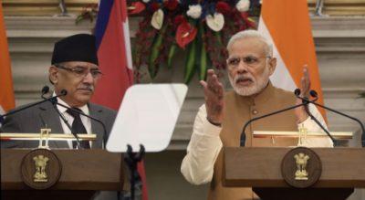 Modi and Pushpa Kamal