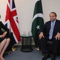 Nawaz Sharif and Theresa May Met