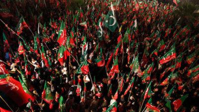 PTI Raiwind March