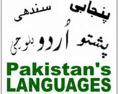 Pakistan Languages