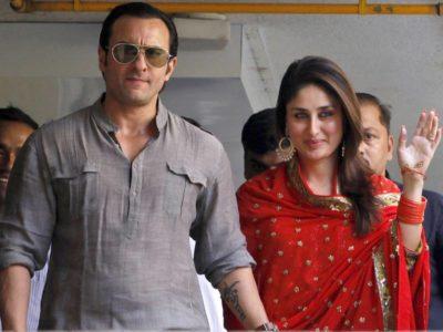Saif Ali and Kareena Kapoor