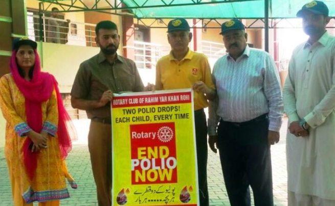 Rotary Club Polio Awareness