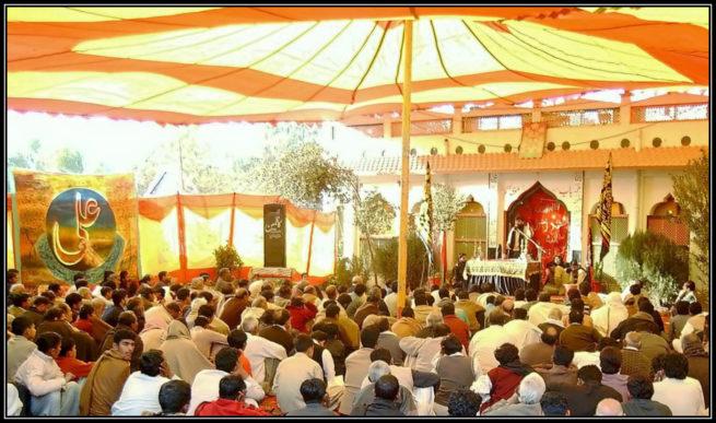 Majlis e Aza at KandhanWala Shareef