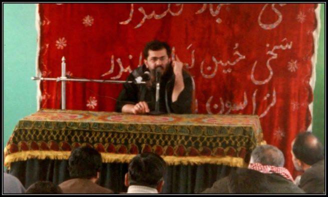 Dr. Ali Abbas Shah addressing a Muharram gathering
