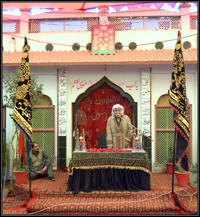 Markazi Khateeb Maulana Muhammad Ali Musawi sahib