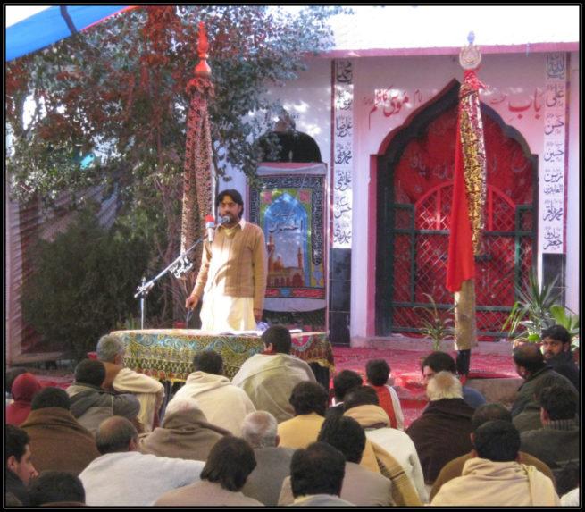Taqi Qayamat at Majlis e Aza