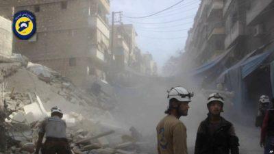 Aleppo Bombing