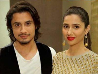 Ali Zafar and Mahira Khan
