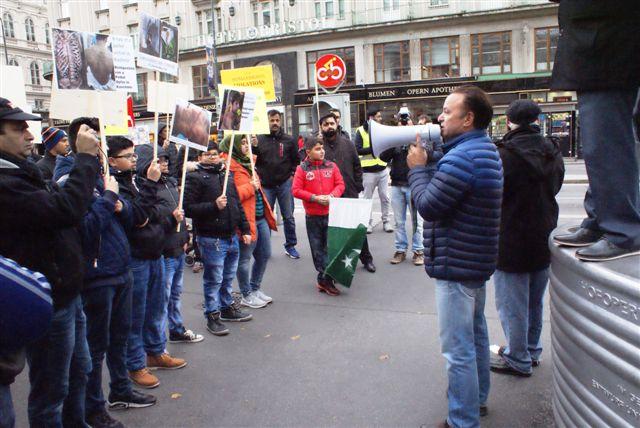 Austria Kashmir solidarity Day Rally