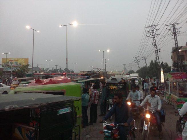 Ferozepur Road Traffic Jams