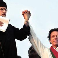 Imran Khan and Dr. Tahir-ul-Qadri