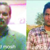 Javed Masih and Zohaib Javed
