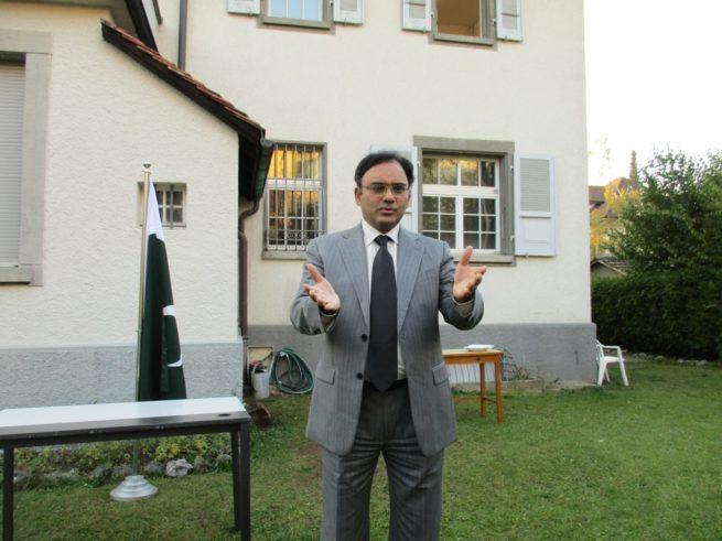 Kashmir Black Day in Switzerland