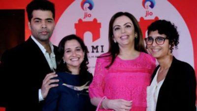 Kiran Rao and Karan Johar