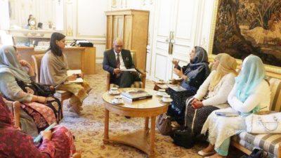 Met with Ambassador Pakistan