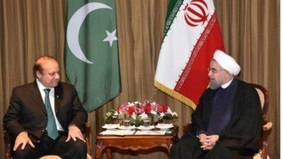 Nawaz  Sharif and Rouhani