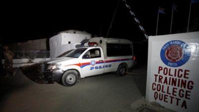Police Training Centre in Quetta Attack