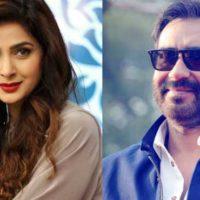 Saba Qamar and Ajay Devgan