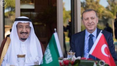 Saudi Arabia and Turkey summit Meeting