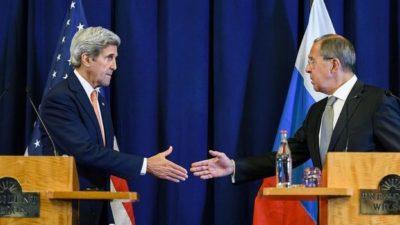 Sergei Lavrov and Kerry
