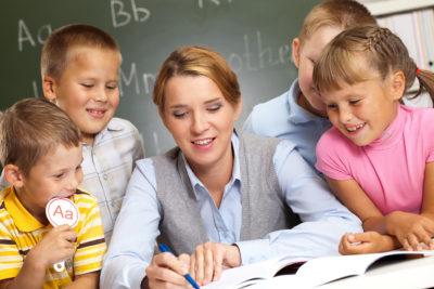 Teacher With Childrens