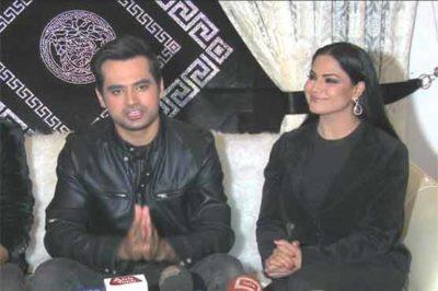 Veena Malik and Asad Khattak