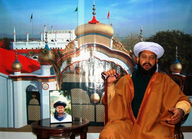 Allama Shah Saeed ul Hasan Gillani pir of Potohar