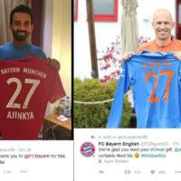 Ajinkya Rahane and Bayern Munich