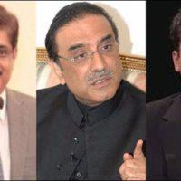 Asif Ali Zardari and Sindh Chief Minister Meetin