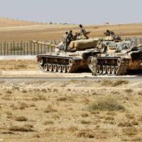 Iraq Border Tank