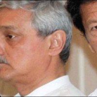 Jahangir Tareen and Imran Khan