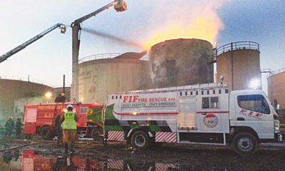 Karachi Oil Storage Tanks