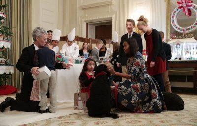 Michelle Obama Christmas Celebrate