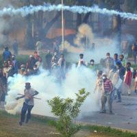 PTI Rally Violence