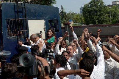 PTI Workers Arrest