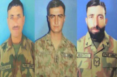 Pakistani Soldiers