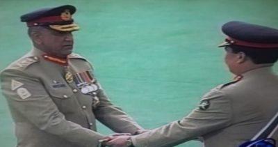 Qamar Javed Bajwa Receive Army Command