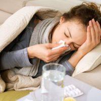 Sick Woman Flu