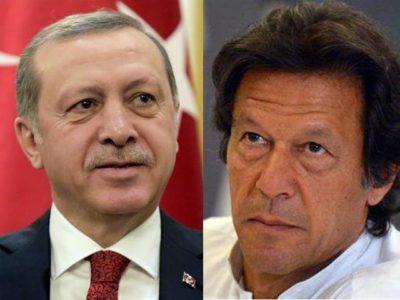 Tayyip Erdogan and Imran khan