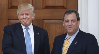 Trump and Chris Christie