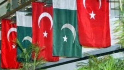 Turkey and Pakistan Fag