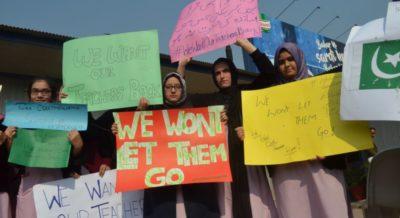 Turkish Teacher Protest