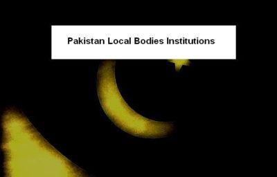 Pakistan Local Bodies Institutions