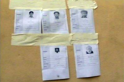 5 Dead Bodies Identification