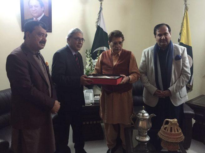 Ali Raza Syed and Raja Farooq Haider Khan Met