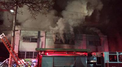 America Warehouse Fire
