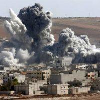 Bombing Syria's Aleppo